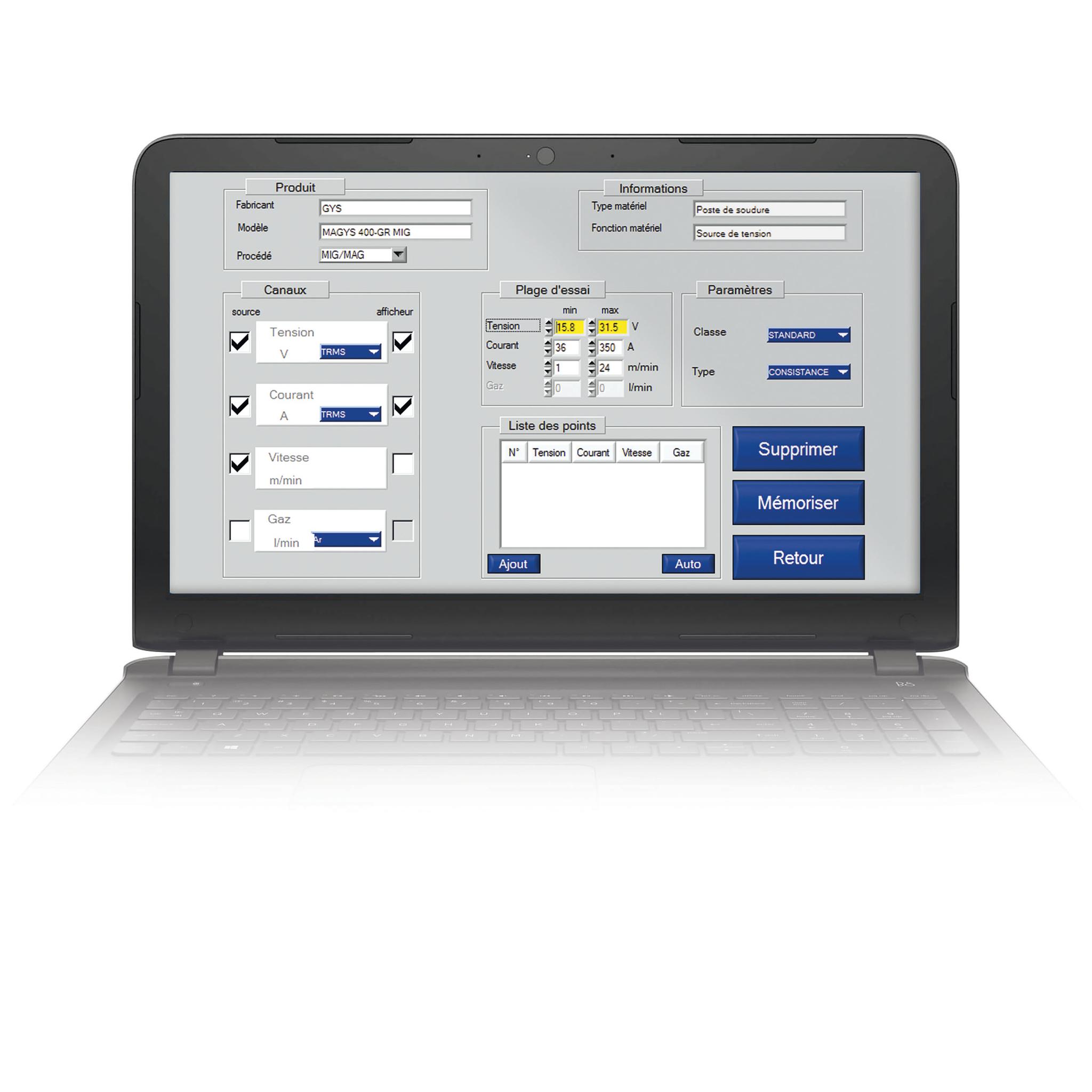 CALIWELD kalibravimo rinkinis WPS/WPQR skirtas EN1090 standartui