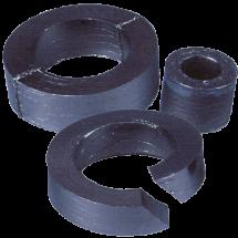 Grynojo grafito folijos žiedai
