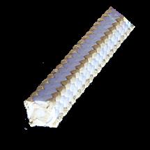 PTFE įkamša su lubrikantu, be silikono