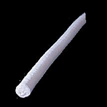 PTFE- vožtuvo virvė, išsentruota apipinta ir papildomai aptraukta