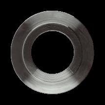 Rifliuotos tarpinės su Covex-shaped pagrindu