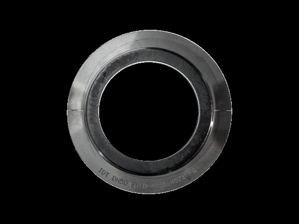 Rifliuota tarpinė su laisvu centruojančiu žiedu