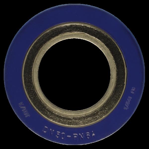 Spirališkai vyniotos tarpinės su vidiniu ir išoriniu žiedu