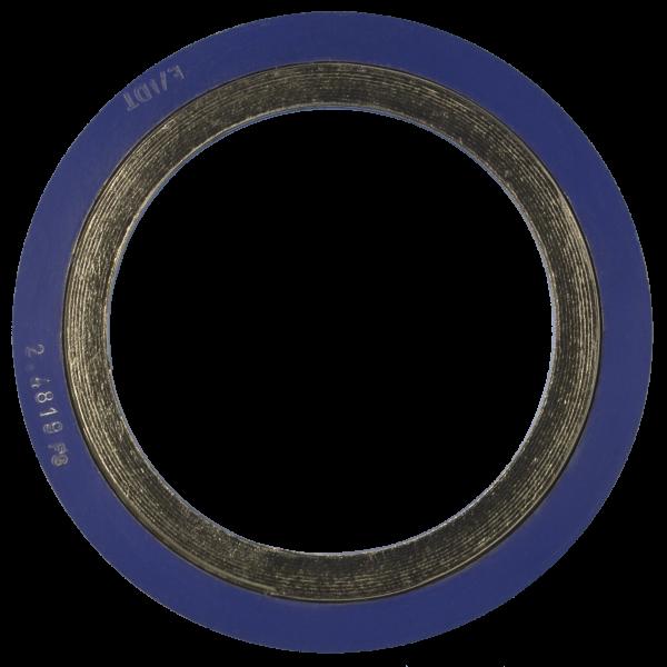 Spirališkai vyniotos tarpinės su išoriniu žiedu