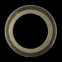 Spirališkai vyniotos tarpinės su vidiniu žiedu