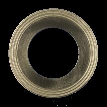 Banguota metalinė tarpinė su dvipusiu daliniu grafito sluoksniu.