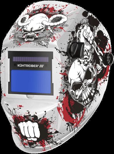 "Kuhtreiber Suvirinimo kaukė 725S ""skull"""