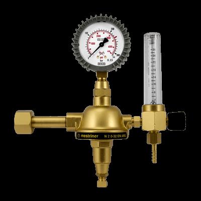 Kuhtreiber RV 25450   CO₂   1 manometras   srauto matuoklis